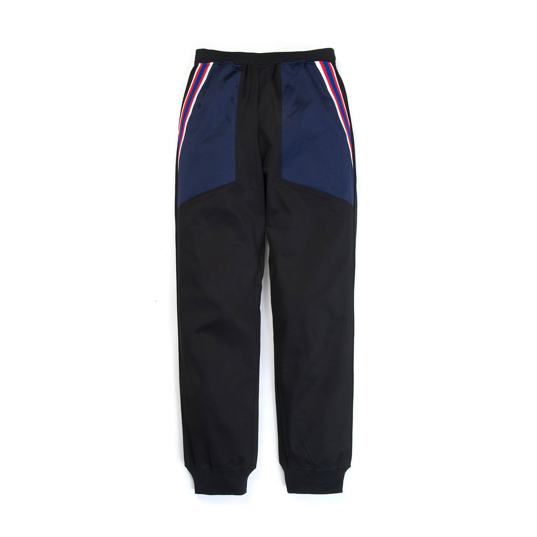 FACETASM Rib Football Track Pants Black