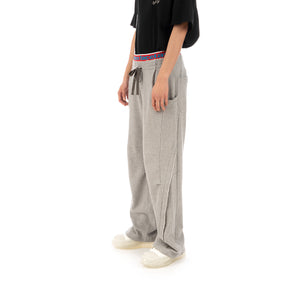 FACETASM | Rib Sweatpants Gray