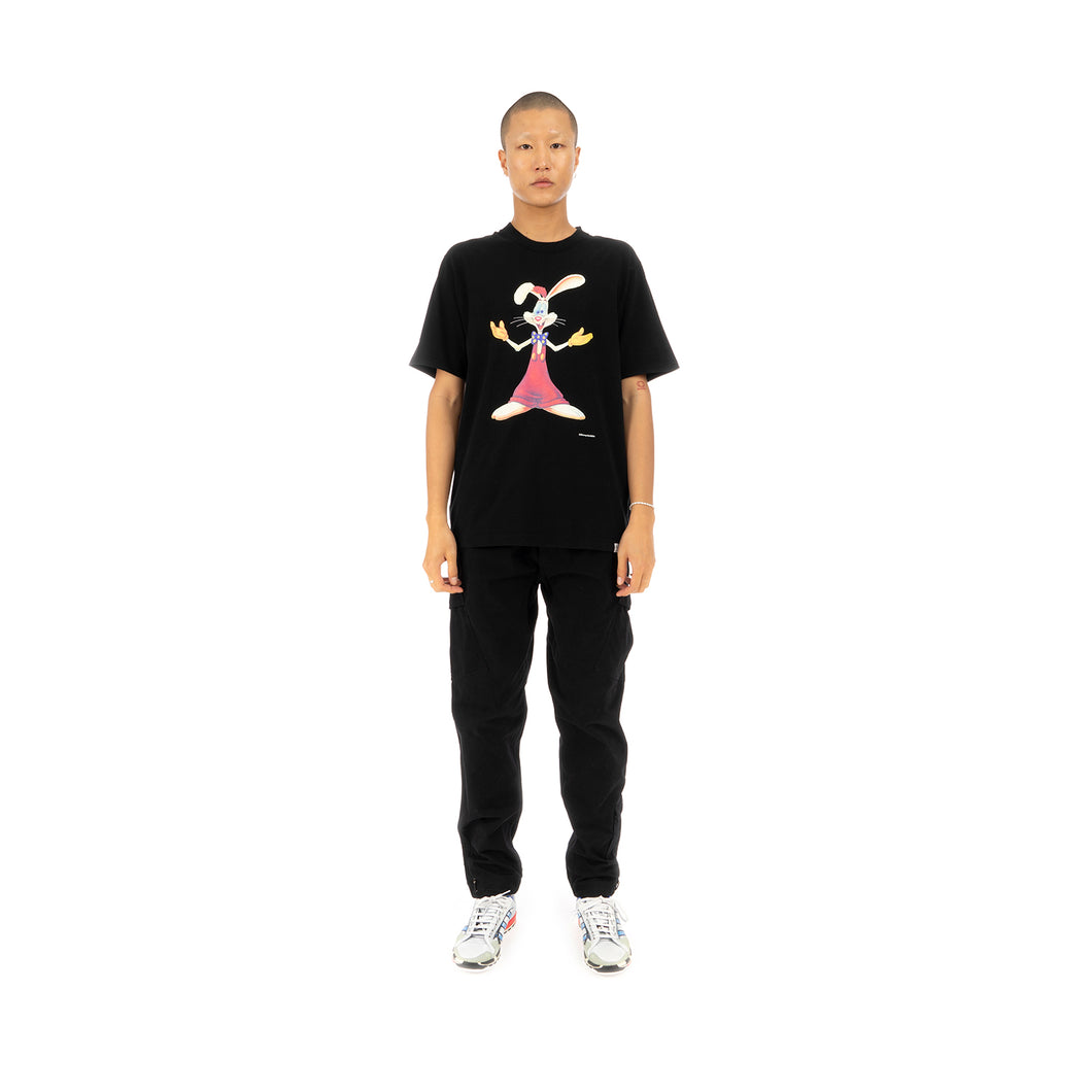 FACETASM | Roger Rabbit Basic T-Shirt Black - Concrete