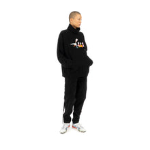 將圖像加載到畫廊查看器中FACETASM Roger Rabbit Neck Sweatshirt Black