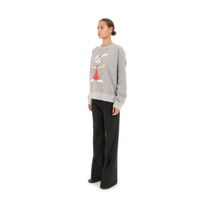 FACETASM Roger Rabbit Sweatshirt Gray