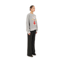Load image into Gallery viewer, FACETASM | Roger Rabbit Sweatshirt Gray - Concrete