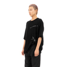 將圖像加載到畫廊查看器中FACETASM | Sellotape Big T-Shirt Black - Concrete