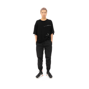 FACETASM | Sellotape Big T-Shirt Black - Concrete