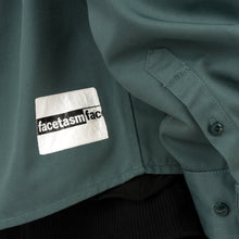 Load image into Gallery viewer, FACETASM | x Dickies Zipper Shirt Blue