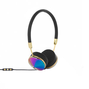 Frends The Layla Black Leather / Oil Slick - Concrete