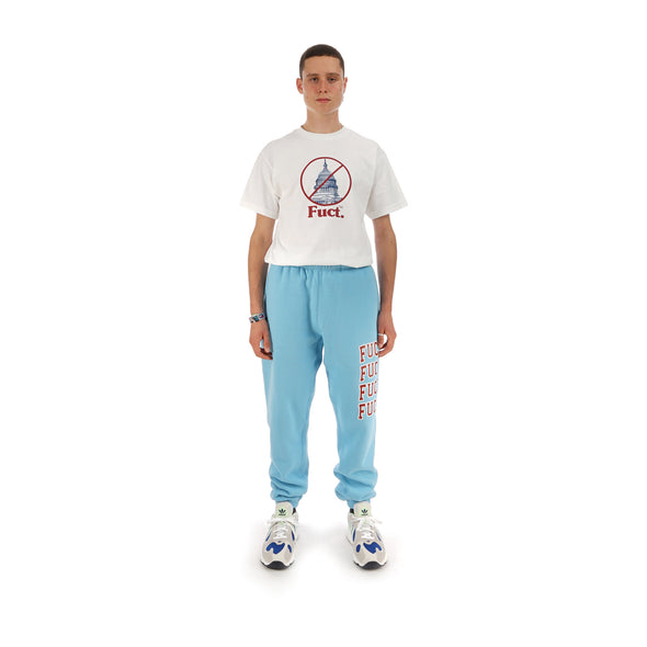 FUCT Academy Sweatpants Powder Blue