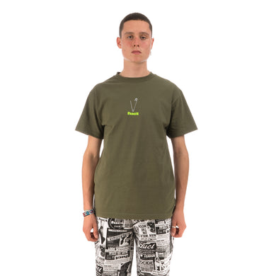 FUCT Safety Pin T-Shirt Olive