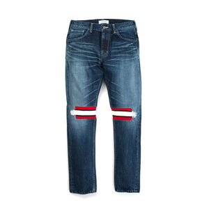 FACETASM Rib Denim Pant Indigo