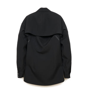 FACETASM Wool Shirt Black