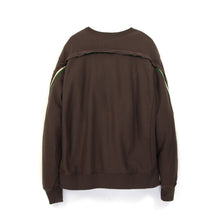 Load image into Gallery viewer, FACETASM Rib Trainer Pullover Sweat Brown