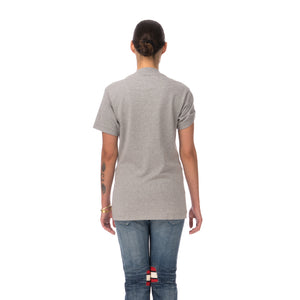 FACETASM | W Tape Basic T-Shirt Grey - Concrete