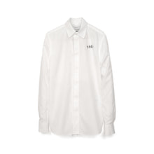將圖像加載到畫廊查看器中FACETASM | W Woven Scarf Shirt White - Concrete