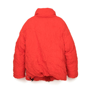 FACETASM W Twisted Down Jacket Red