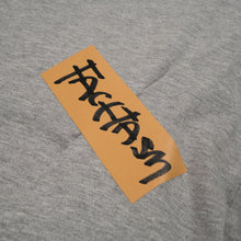 Load image into Gallery viewer, FACETASM W Tape Basic T-Shirt Grey