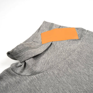 FACETASM W Tape Basic T-Shirt Grey