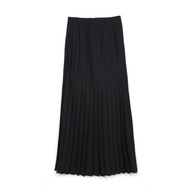 FACETASM W Wool Skirt Black