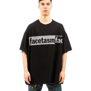 FACETASM | Logo Big T-Shirt Black - Concrete
