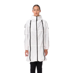 Final Home | Survival Long Coat White