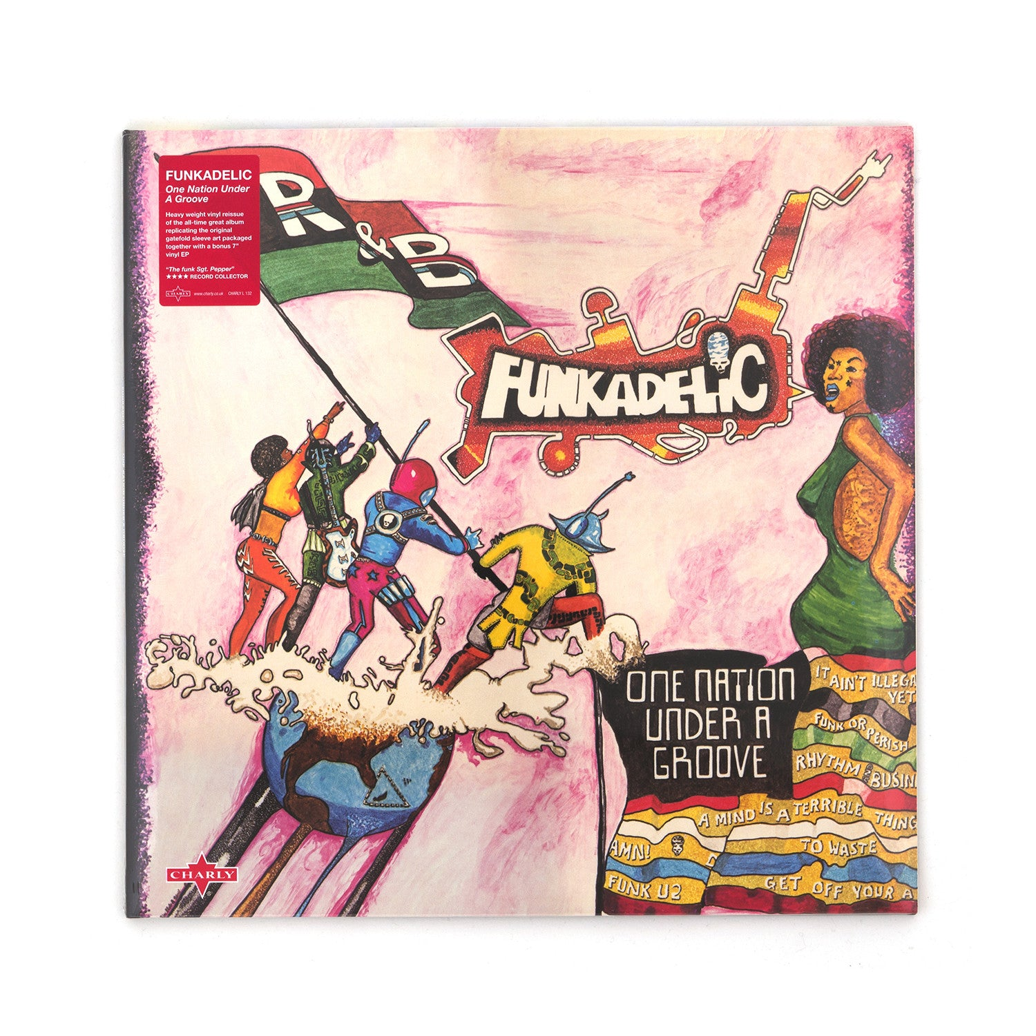 Funkadelic - One Nation Under A Groove LP+7'' - Concrete