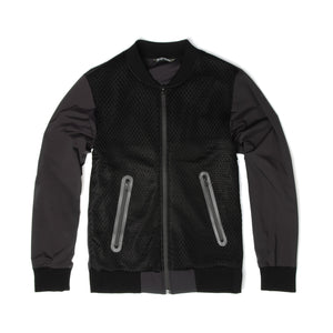 Griffin Bomber Nylon Mesh Black - Concrete
