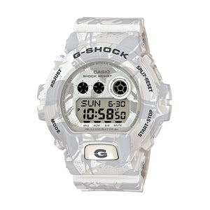 G-SHOCK GD-X6900MC-7ER White Camo - Concrete
