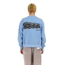 Load image into Gallery viewer, GarbageTV Bondage Sweater Baby Blue