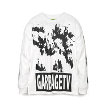 Load image into Gallery viewer, GarbageTV Roberts Dream L/S T-Shirt White