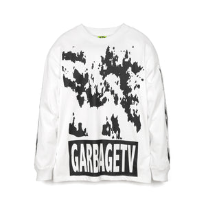 GarbageTV | Roberts Dream L/S T-Shirt White - Concrete