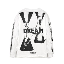 Load image into Gallery viewer, GarbageTV | Roberts Dream L/S T-Shirt White - Concrete