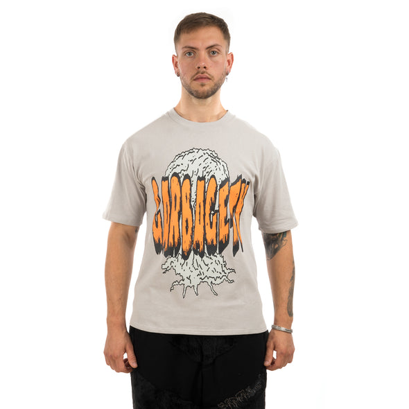 GarbageTV Hardstylr T-Shirt Grey