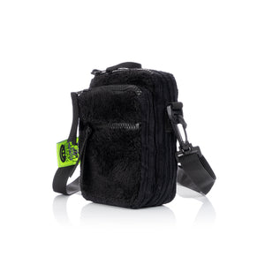GarbageTV | Just Touring Bag Black Fur - Concrete