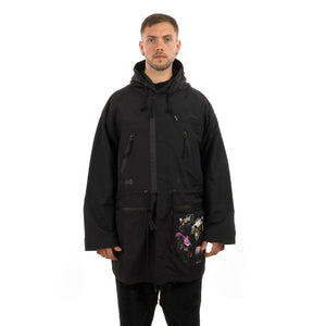 GarbageTV Smash It Anorak Black