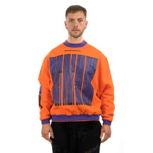 Load image into Gallery viewer, GarbageTV Sweater 4 Forget It Orange
