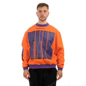GarbageTV | Sweater 4 Forget It Orange - Concrete