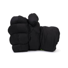"Load image into Gallery viewer, GarbageTV Keep It Clenched ""Fist"" Pillow Black - Concrete"