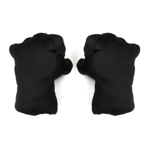 "GarbageTV Keep It Clenched ""Fist"" Pillow Black - Concrete"