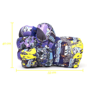 "GarbageTV Keep It Clenched ""Fist"" Pillow 96' Print"