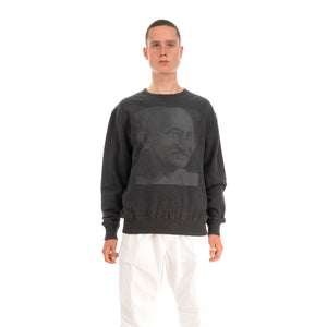 MHI Kanjidhi Crew Sweat Charcoal Marl
