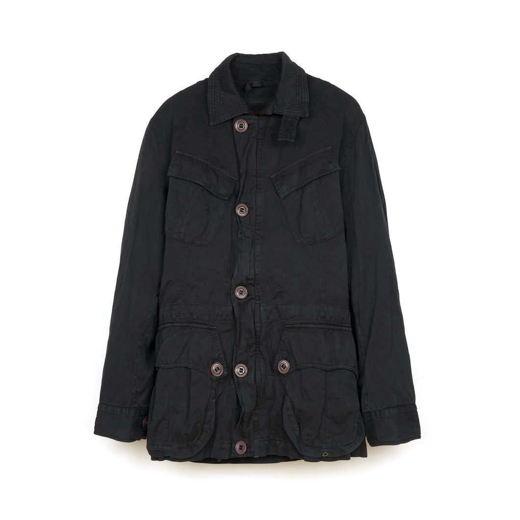Griffin Padstow Jacket Steel Co Black