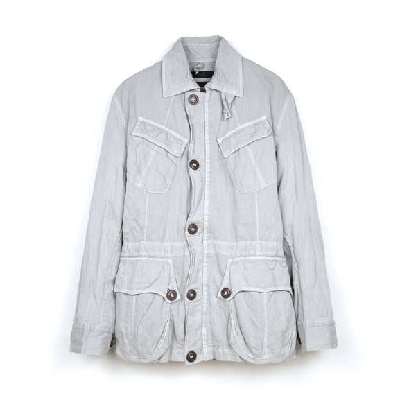 Griffin Padstow Jacket Steel Co Dove - Concrete