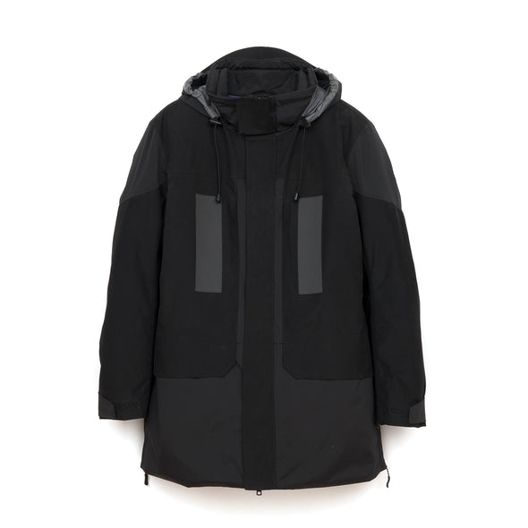 Griffin Open Sides Jacket Black - Concrete