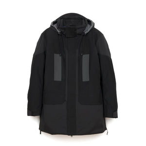 Griffin Open Sides Jacket Black