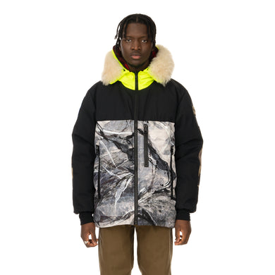 Griffin | Reversible Atlantic Parka Snow Camo / Black Majo