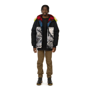 Griffin | Reversible Atlantic Parka Snow Camo / Black Majo - Concrete