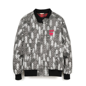 Griffin x Baracuta G9 Jacket Cotton Print Grey - Concrete