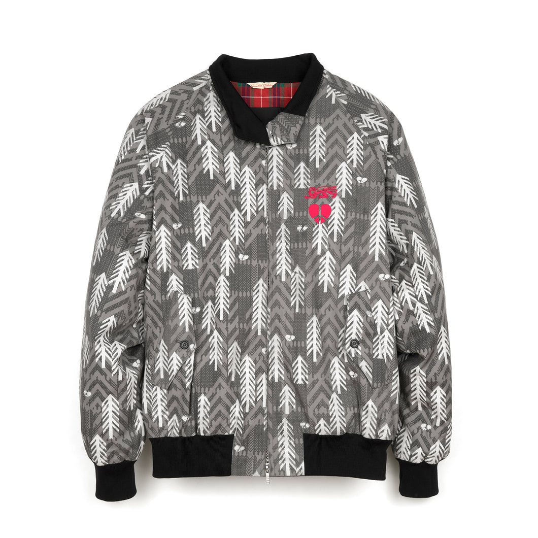 Griffin x Baracuta G9 Jacket Cotton Print Grey