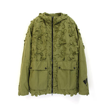 Load image into Gallery viewer, Griffin Bladecut Jacket Parachute Khaki - Concrete