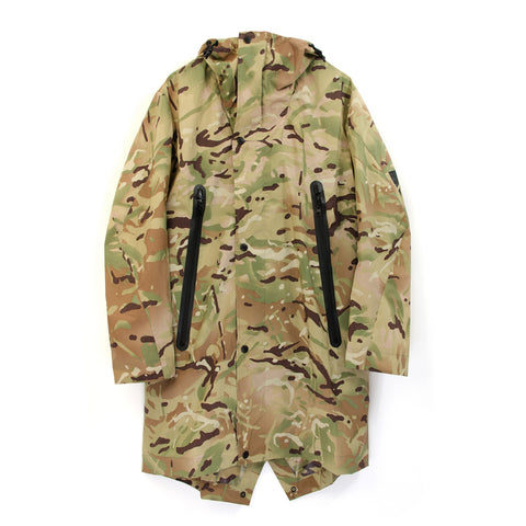 Griffin Fishtail Parka - 2 Layer British Camo - Concrete