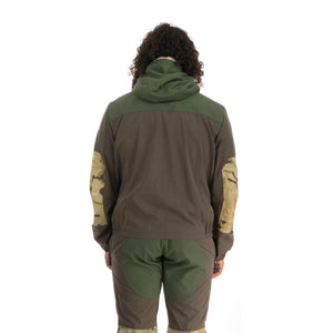 Griffin | Flying Jacket Green - Concrete